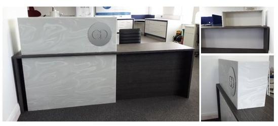 GD reception desk